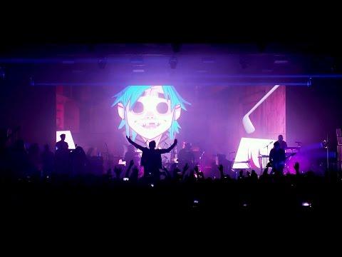GORILLAZ 'Saturnz Barz' Live at Printworks London (видео)