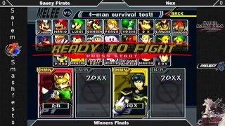 [Melee|11-22-15] Winners Finals: Saucy Pirate (Fox, Falco, Captain Falcon) VS Nox (Marth, Falco)