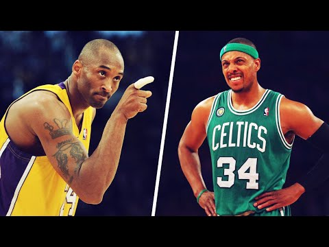 Kobe Bryant cut out a picture of Paul Pierce for motivation | House Of Bounce