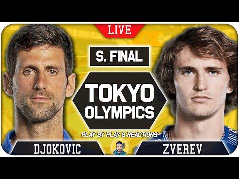🔴 DJOKOVIC vs ZVEREV | Tokyo Olympic 2021 | LIVE Tennis Play-by-Play
