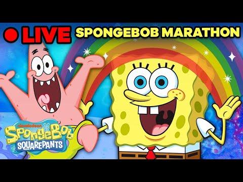 🔴 SpongeBob 5 Minute Episodes Marathon! | SpongeBob Live Stream