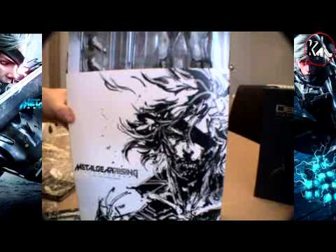 Unboxing Metal Gear Rising : Revengeance - Ps3 (Euro Version)
