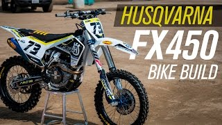 5. FMF 2017 Husqvarna FX450 Bike Build