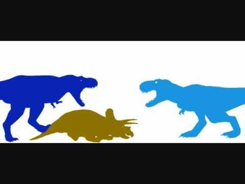 T.rex vs V.rex VS Spino