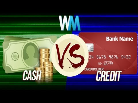 cash versus credit Compare personal loans vs credit cards and choose which to use for a big purchase or debt consolidation  this is a one-time fee that is paid in cash or from your.