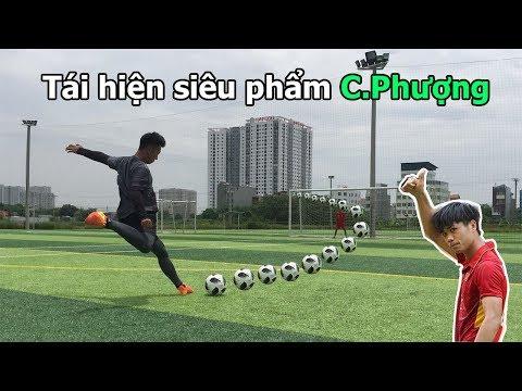 Thử Thách Bóng Đá tái hiện siêu phẩm của Công Phượng U23 Việt Nam đẹp như Ronaldo mùa World cup 2018 - Thời lượng: 9:17.