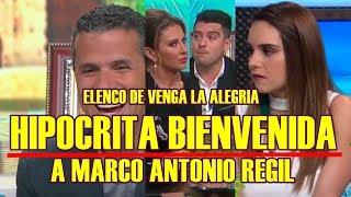 CAMARAS TRAICIONAN A ELENCO DE VENGA LA ALEGRIA con su HIPÓCRITA BIENVENIDA a MARCO ANTONIO REGILLINK: https://www.youtube.com/watch?v=FoQeiRLZnds