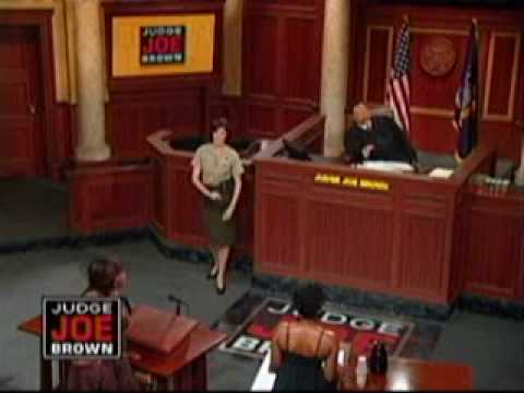 Judge Joe Brown: Hand on the Hip