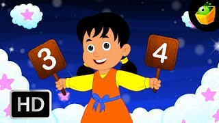 One two buckle my shoe - English Nursery Rhymes - Animated/ Cartoon Songs For Kids