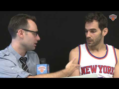 jose - Knicks.com's Jonah Ballow sat down with Jose Calderon to discuss his international experience, what he brings to this Knicks team, and his life off the court.