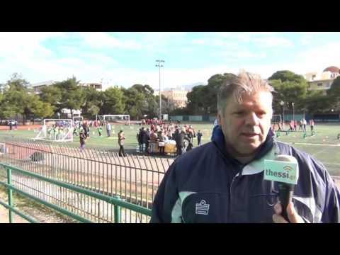 Ο ΣΤΑΥΡΟΣ ΜΟΝΕΜΒΑΣΙΩΤΗΣ ΓΙΑ ΤΟ «Kids' Athletics»