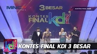 Video Juju - Mumu VS Juan Rahman - Bianca Liza - Kontes Final KDI 2015 (1/6) MP3, 3GP, MP4, WEBM, AVI, FLV Maret 2019