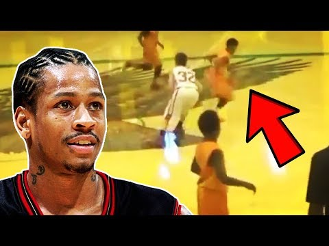 Allen Iverson's Son Is A 14 Year Old Ankle Breaker