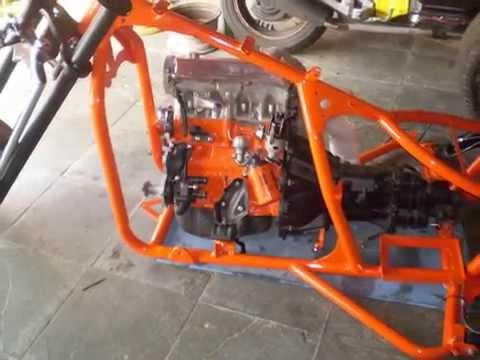 triciclo ap 1.6 com suspençao a ar  flash motos concept