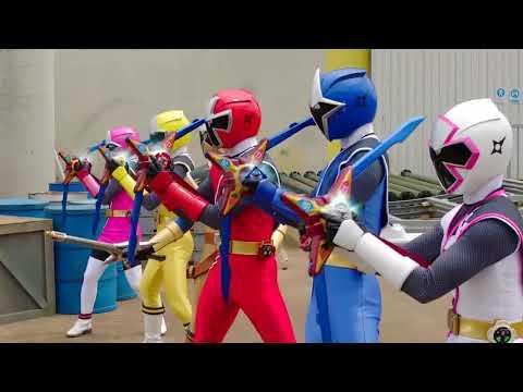 Power Ranger Ninja Steel | Rangers vs Trapsaw - Capitulo 10 (видео)