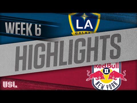 LA Galaxy 2 - Нью-Йорк Ред Буллз-2 1:1. Видеообзор матча 23.04.2018. Видео голов и опасных моментов игры