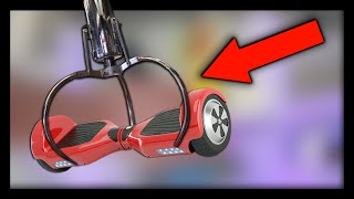 HOVERBOARD in the Claw Machine!
