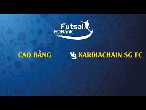 Trực tiếp | Cao Bằng - Kardiachain SG FC | VCK Futsal VĐQG HD Bank 2019 | BLV Quang Huy - Thời lượng: 1 giờ và 41 phút.
