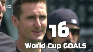 Miroslav Klose is Germany's record goalscorer (71) and now teaching the art of goalscoring. Since 2016 is part of Germany's coaching staff. Can he follow in Jogi's footsteps?Subscribe for more: http://youtube.com/dwkickoffDW Kick off! is your ticket to German football:Facebook: http://facebook.com/dw.kickoffTwitter: http://twitter.com/dw_sportsWebsite: http://dw.com/sports