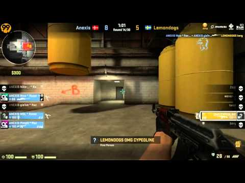 Fnatic FFO: Lemondogs vs Anexis - German