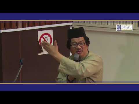 Sekolah Kalam & Sains Moden, 6 Feb 2018 (Panel: Prof Wan Ahmad Tajuddin Wan Abdullah)