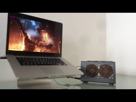 MacBook Pro Retina with external graphics card GTX 970 - Firestrike Benchmark