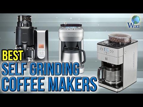 6 Best Self Grinding Coffee Makers 2017