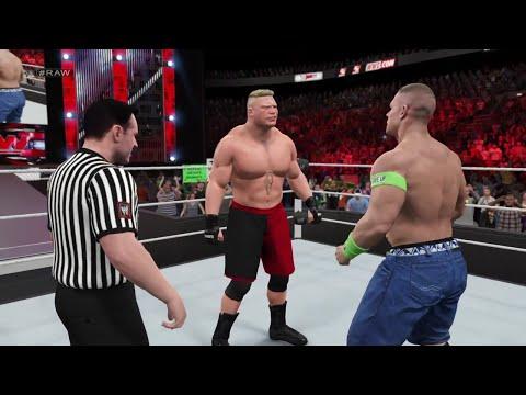 Download WWE 2K15 John Cena vs Brock Lesnar at RAW 2015 (PS4) HD HD Mp4 3GP Video and MP3