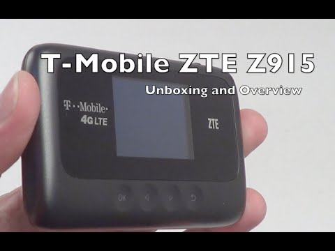 T-Mobile ZTE Z915 Hotspot - Band 12 LTE Support