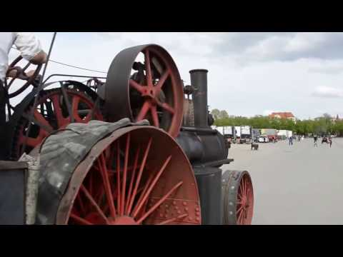 паровой трактор видео
