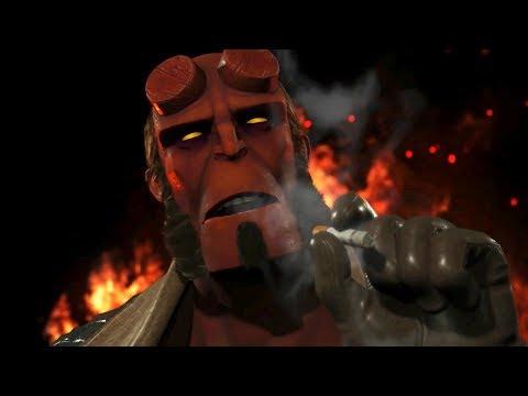 Hellboy Baby Мультивселенная Хэллбоя и Онлайн - Injustice 2