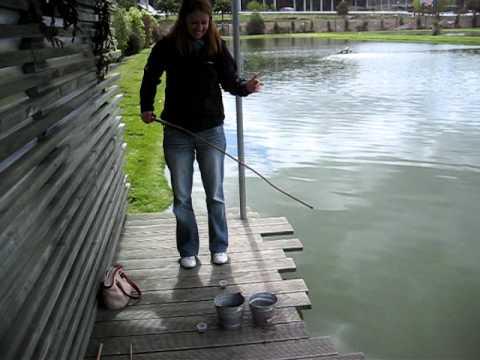 Naomi and Steve go Prawn Fishing