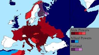 World War Ii In Europe  Every Day
