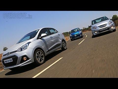 Hyundai XCENT vs Honda AMAZE vs Maruti-Suzuki DZIRE in India