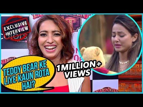Asha Negi Makes FUN Of Hina Khan As She CRIES For Pooh | Bigg Boss 11 | EXCLUSIVE Interview (видео)