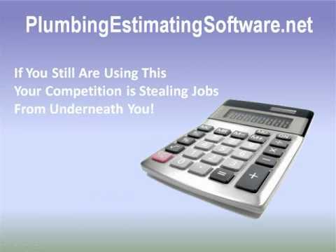 plumbing estimating software