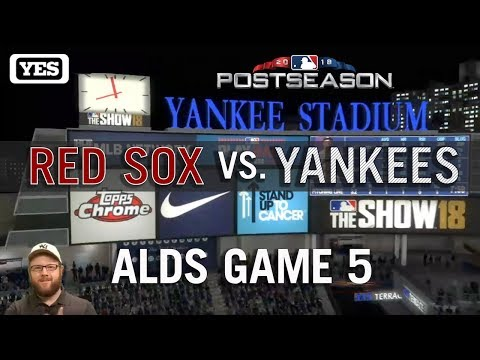 Video: MLB The Show '18: Episode 30: YANKEES ALDS Game 5
