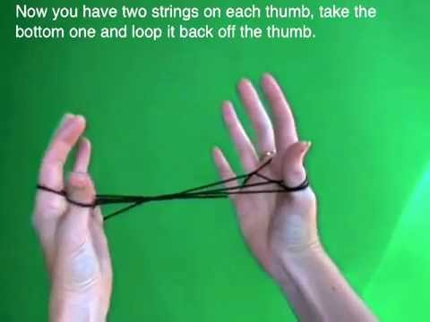 How to String games: how to do a Jacob's Ladder string figure