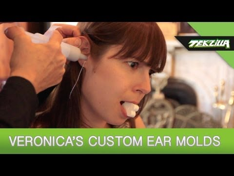molding - In Veronica's continuing saga to find the best fitting earbuds, Jude from Head-Fi and Mike from Ultimate Ears have stepped in to outfit her with a pair of cu...