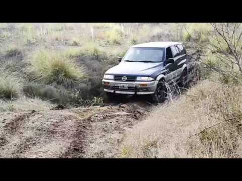 La Tosquera: SsangYong Musso 602 4x4 Off-Road (HD)