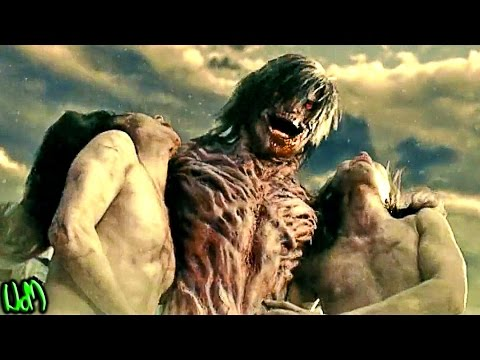 Attack on Titan movie - Heads Go SPLAT! - Attack on Titan movie Part 1