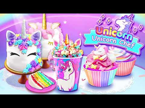 Unicorn Chef: Fun Free Cooking Games For Kids