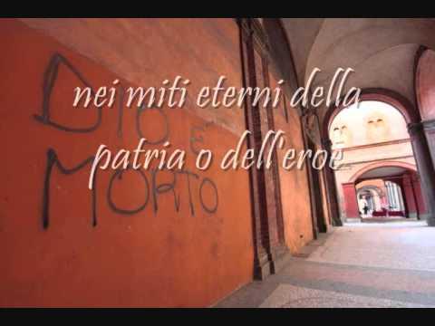 Immagine della canzone Dio è morto di Francesco Guccini
