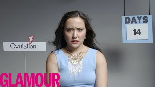 Download Lagu This is Your Period in 2 Minutes | Glamour Mp3