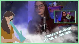 Freeze Pipe Recycler | Dinner, Dabs & Dessert by Jenny Wakeandbake