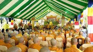 Hòa thượng Tôn sư quang lâm chứng minh Lễ tưởng niệm Phật hoàng Trần Nhân Tông nhập Niết bàn tại TV Thường Chiếu