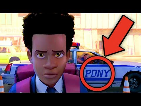 SPIDER-MAN: INTO THE SPIDER-VERSE Trailer Breakdown! #NewRockstarsNews
