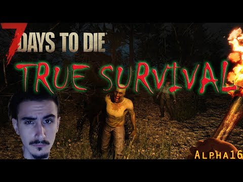 Twitch - True Survival part 5 - 7 Days to Die