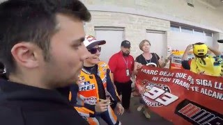 Video Marc Marquez hugs a child after taking pole position at Circuit of the Americas in Austin, Texas MP3, 3GP, MP4, WEBM, AVI, FLV Oktober 2018