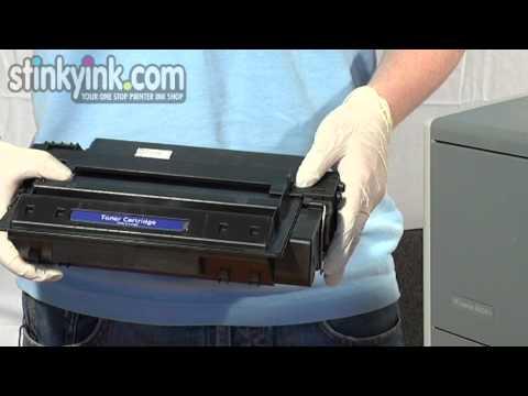 Installing a HP 11A Toner Cartridge